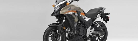 New 2016 Honda CB500X Adventure – Matte Brown Metallic