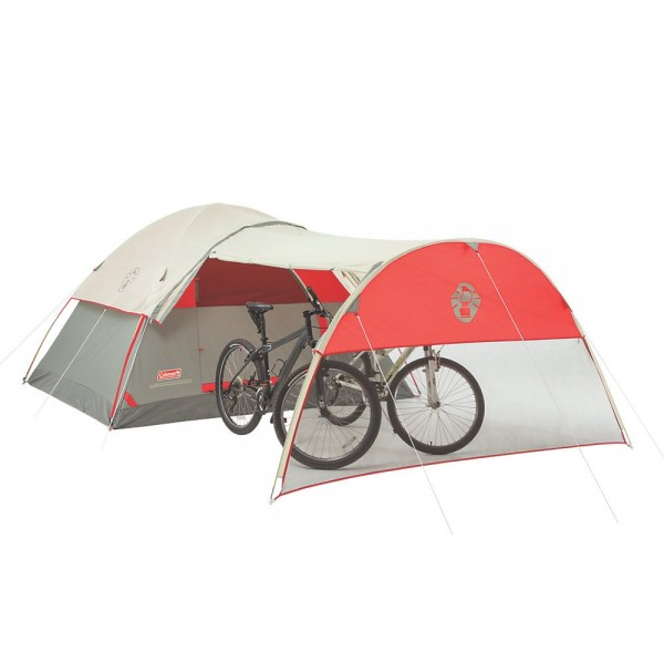 dome tent with porch for motorcycle worldcrosser. Black Bedroom Furniture Sets. Home Design Ideas