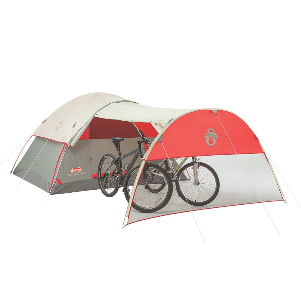 Dome Tent With Porch For Motorcycle